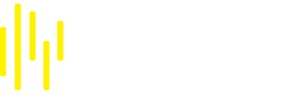 Media For Democracy Logo White